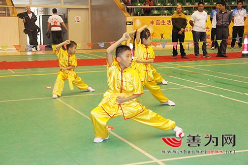 武术盛会展身手 ——市第三届传统武术锦标赛掠影